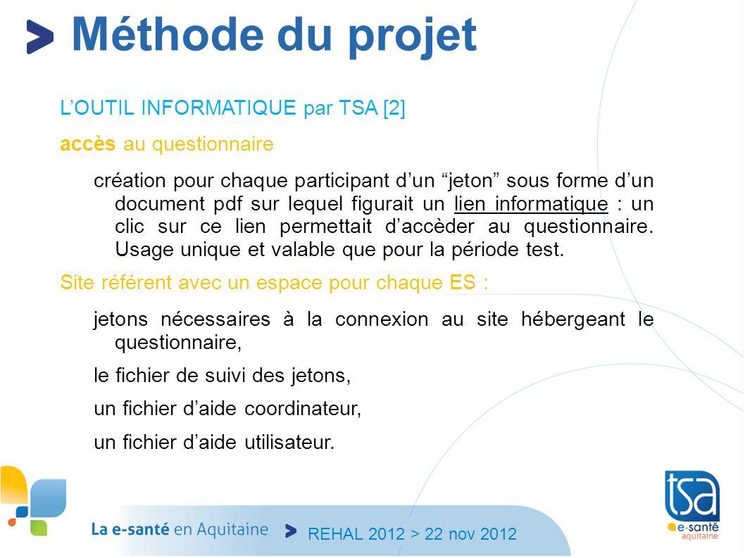 Méthode du projet L'OUTIL INFORMATIQUE par TSA [2]